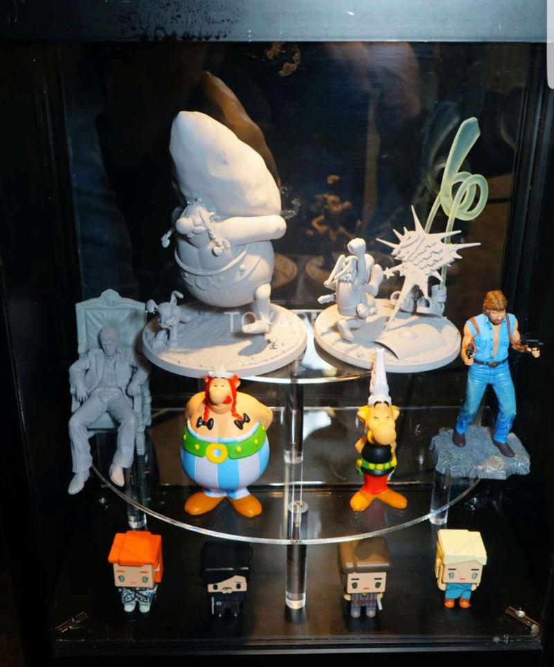 Prototypes Astérix et Obélix au salon a New York  20171010