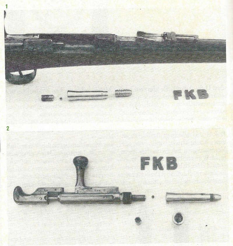 Rechargement Chassepot à cartouches métalliques, système Kersting Kersti12