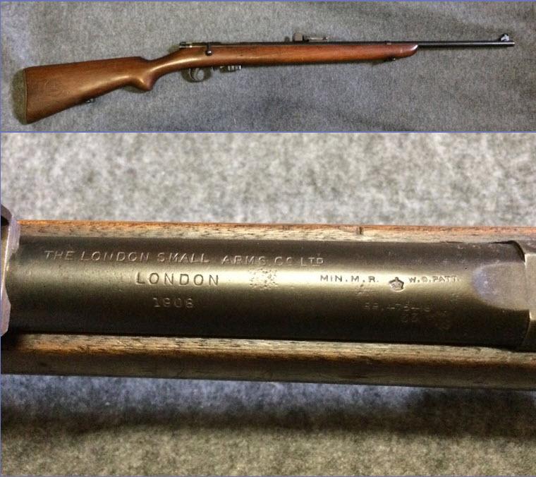 war office pattern miniature rifle. en calibre 22lr. Worifl13