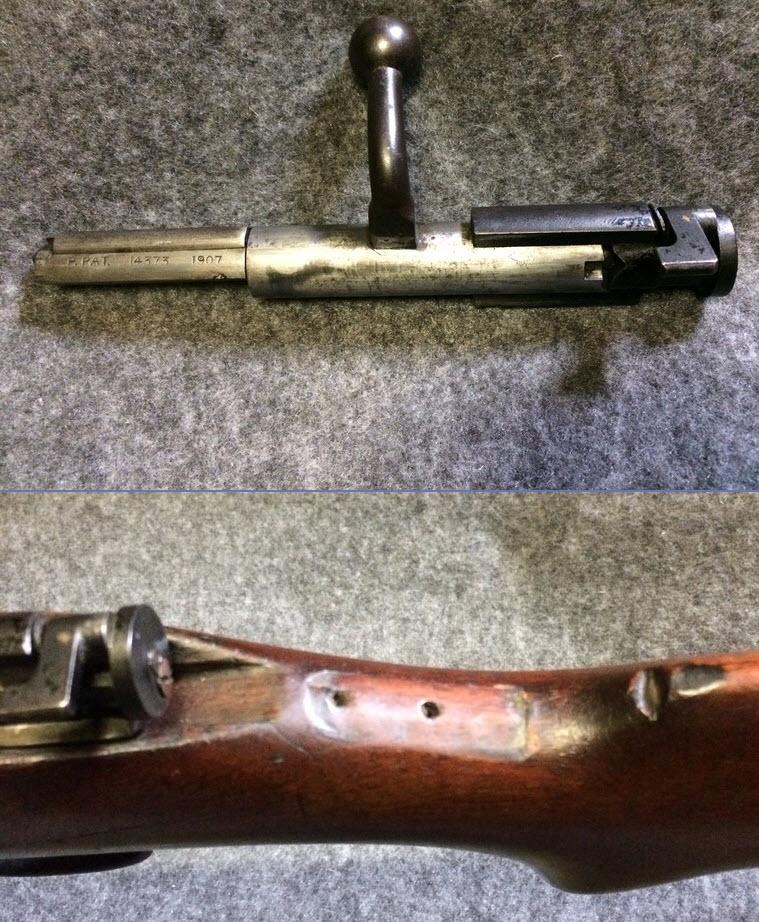 war office pattern miniature rifle. en calibre 22lr. Worifl18