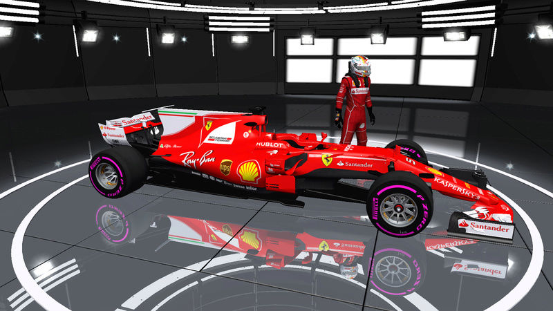 rFactor F1 2017 MOD By RLB Download Rfacto17