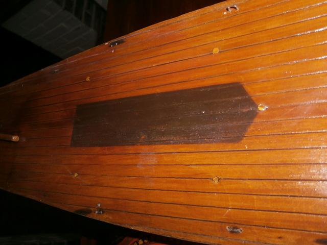 Restauration d'un voilier espagnol. Pa082813