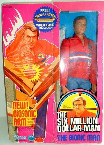 The Six Million Dollar Man /The Bionic Woman Kenner 1975-1978. 72299512