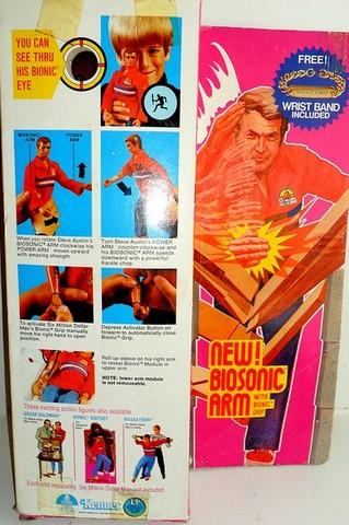 The Six Million Dollar Man /The Bionic Woman Kenner 1975-1978. 72299513