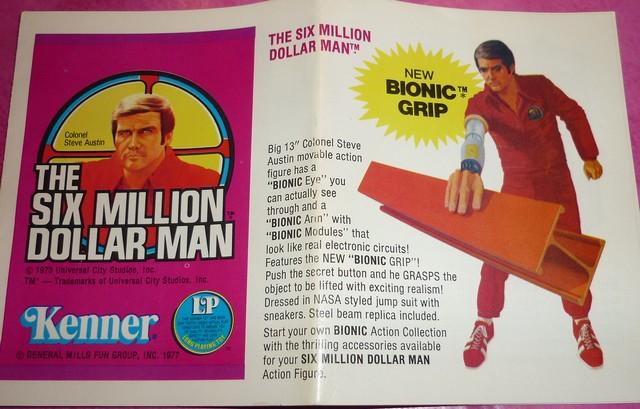 The Six Million Dollar Man /The Bionic Woman Kenner 1975-1978. P1240813