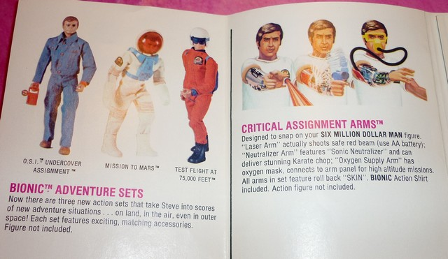 The Six Million Dollar Man /The Bionic Woman Kenner 1975-1978. P1240814