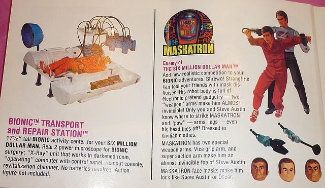 The Six Million Dollar Man /The Bionic Woman Kenner 1975-1978. P1240816
