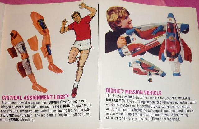 The Six Million Dollar Man /The Bionic Woman Kenner 1975-1978. P1240817