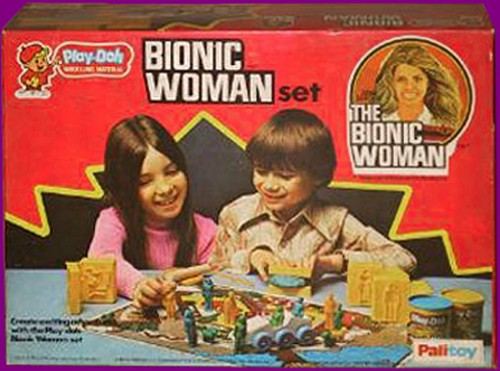 The Six Million Dollar Man /The Bionic Woman Kenner 1975-1978. Play_d13