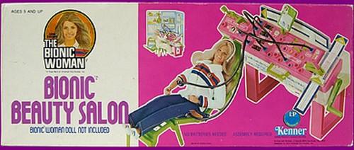 The Six Million Dollar Man /The Bionic Woman Kenner 1975-1978. Play_s11