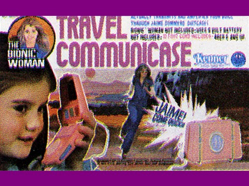 The Six Million Dollar Man /The Bionic Woman Kenner 1975-1978. Play_t11
