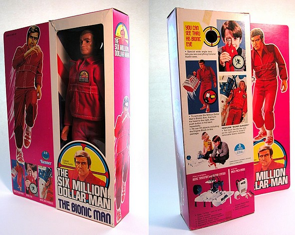 The Six Million Dollar Man /The Bionic Woman Kenner 1975-1978. Smdm210