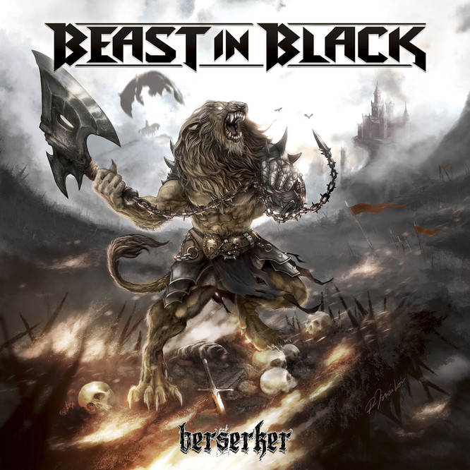 "BEAST IN BLACK  ""Berserker""  (NOV 2017) Bib10"