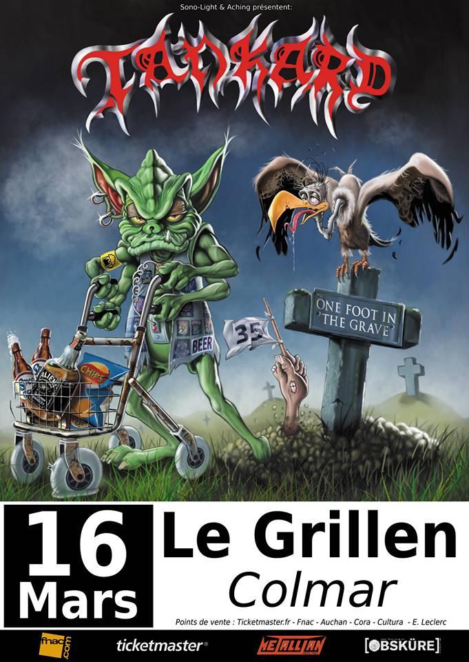 TANKARD  Le 16 Mars 2018  Le Grillen  COLMAR Sl201810