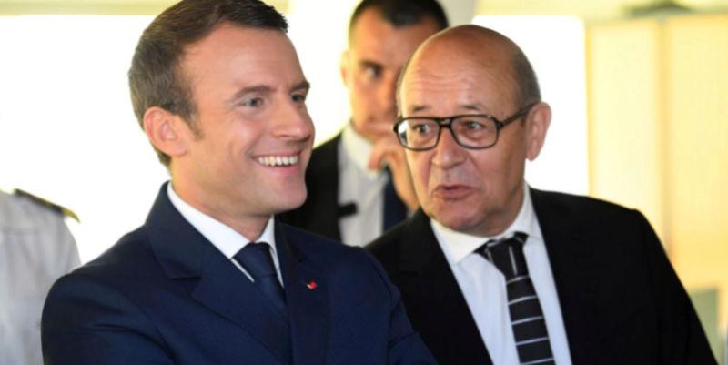 Rééducation politique voulue par le gouvernement français de Macron Emmanu11