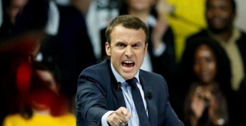 Rééducation politique voulue par le gouvernement français de Macron Macron11
