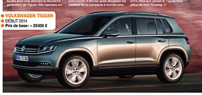 Volkswagen touran - 2016 - [Volkswagen] Tiguan II Tiguan10