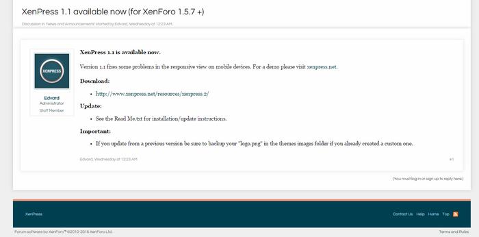 تحميل استايل XenPress الجديد 310