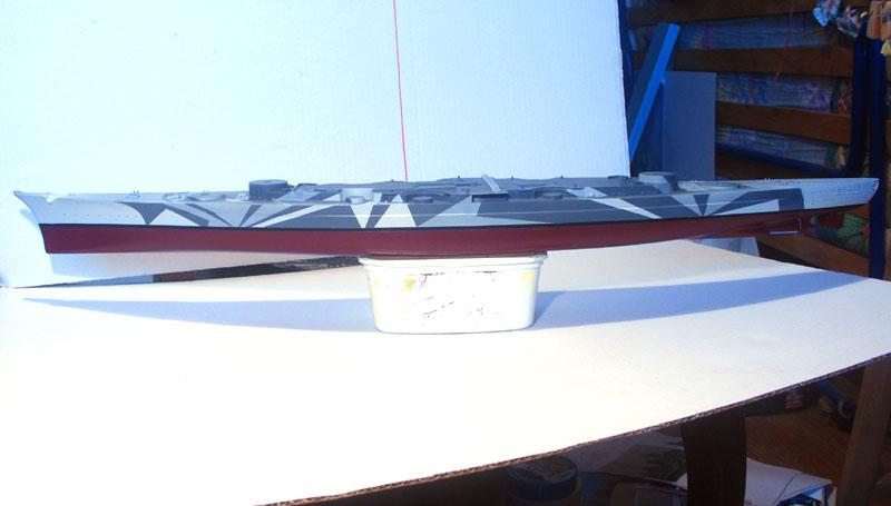 Tirpitz Tamiya 1/350 01_vue12