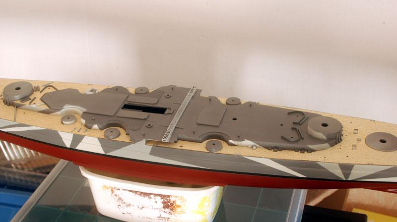 Tirpitz Tamiya 1/350 05_cen10