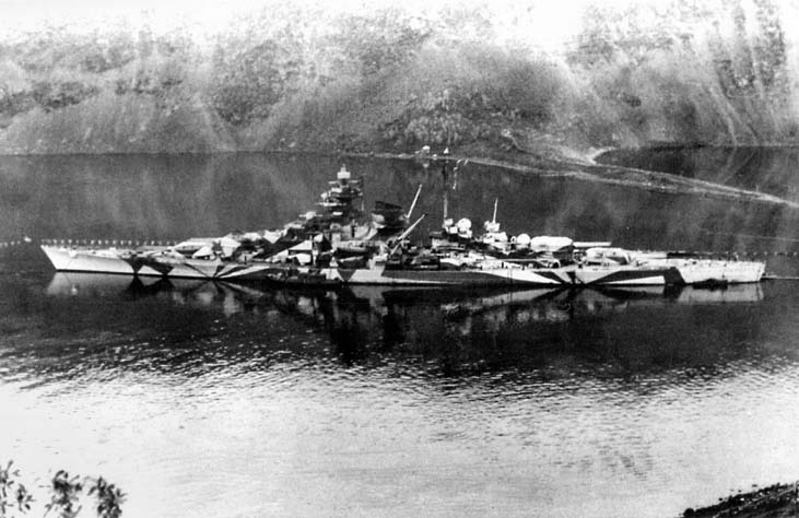 Tirpitz Tamiya 1/350 Gallth10