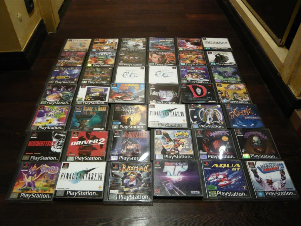 [VENDU] Lot de 41 jeux PS1 et lot de packs rares de jeux PS1 P1540316
