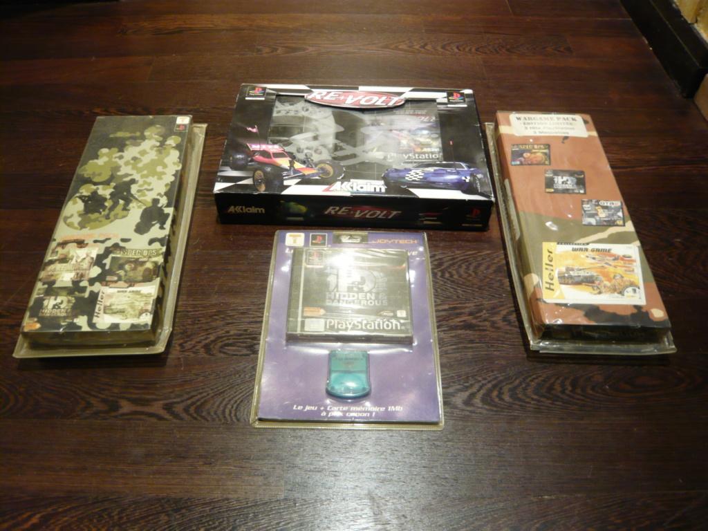 [VENDU] Lot de 41 jeux PS1 et lot de packs rares de jeux PS1 P1540317