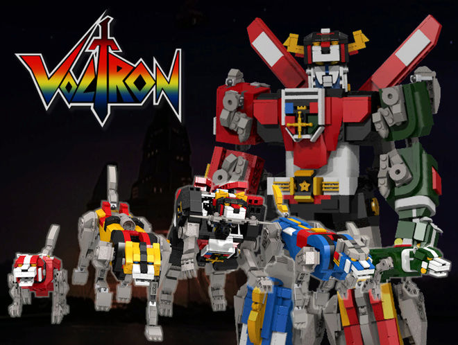 Voltron Defender of the Universe (Hyakujuu Ou Golion) Voltro10