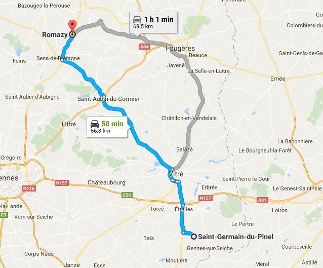 URGENT covoiturage mardi 8 août de St Germain du Pinel à Romazy pour 3 chatons Covoit10