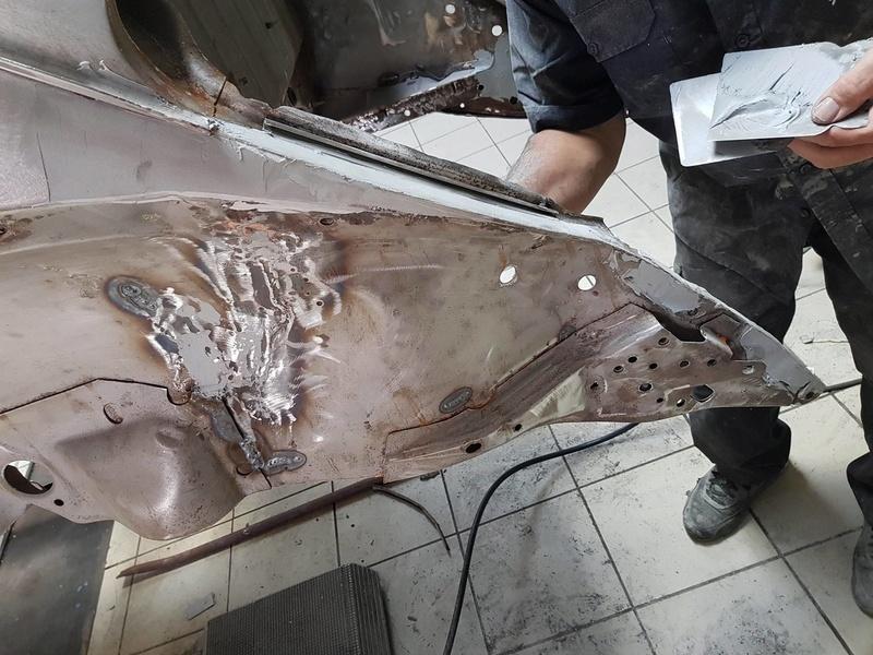 Restauration Coccinelle 1303 de 1973 20316911