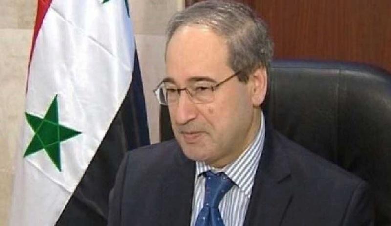 المقداد: سوريا تخلصت من الأسلحة الكيماوية بشكل كامل Alalam12