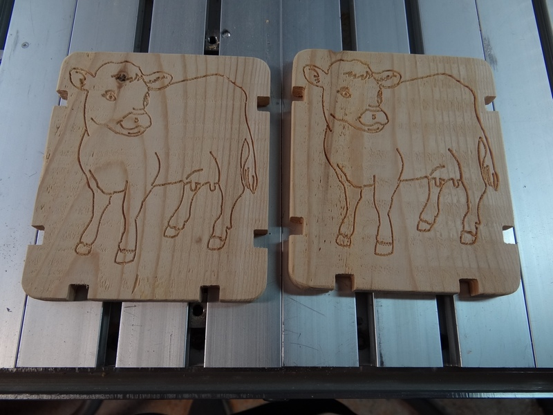 Porte Brique de lait Vache-14