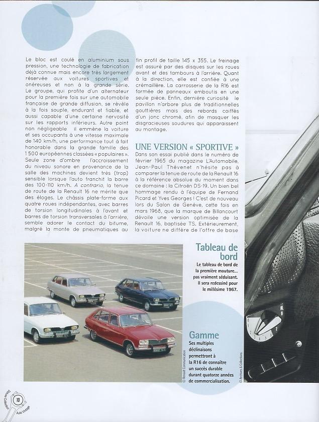 Auto Vintage 1/24 ° - Page 4 Renaul16