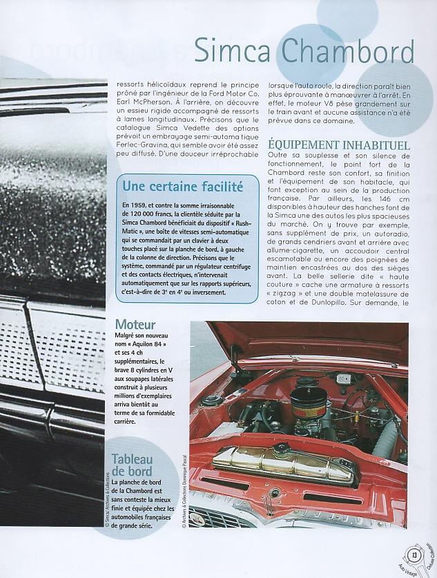 Auto Vintage 1/24 ° - Page 3 Simca_22
