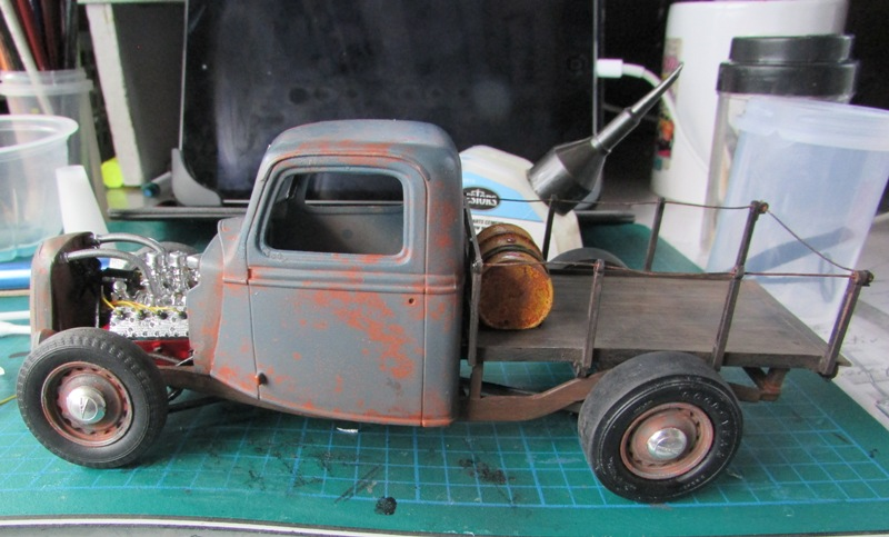 Shop report #11; 1937.  Ford Pickup Rat Rod  - Page 2 03711