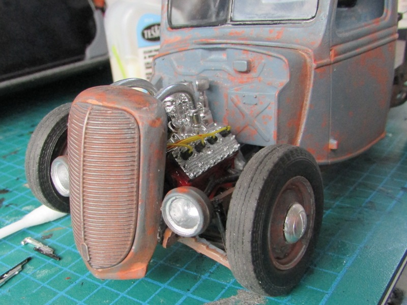 Shop report #11; 1937.  Ford Pickup Rat Rod  - Page 2 03811