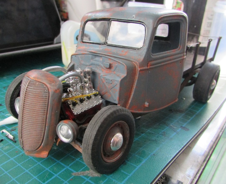 Shop report #11; 1937.  Ford Pickup Rat Rod  - Page 2 03911