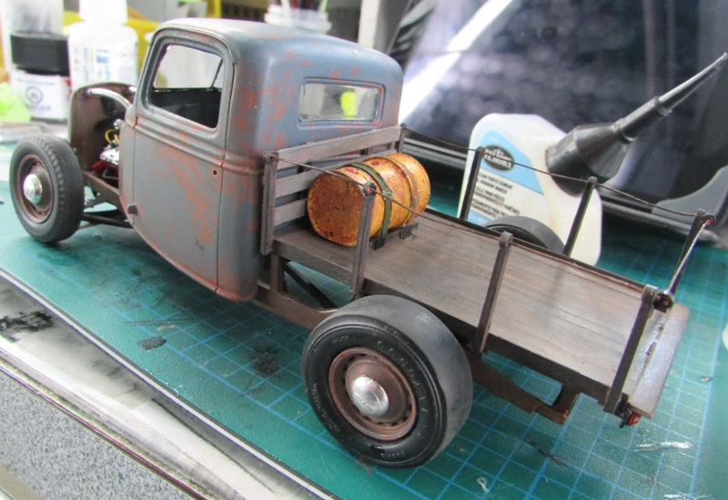 Shop report #11; 1937.  Ford Pickup Rat Rod  - Page 2 04111
