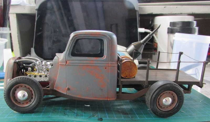 Shop report #11; 1937.  Ford Pickup Rat Rod  - Page 2 04212