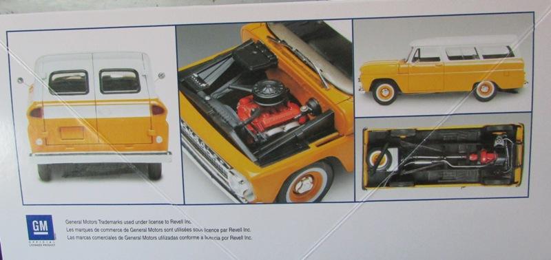 1966 Chevrolet Suburban de Revell  96167810