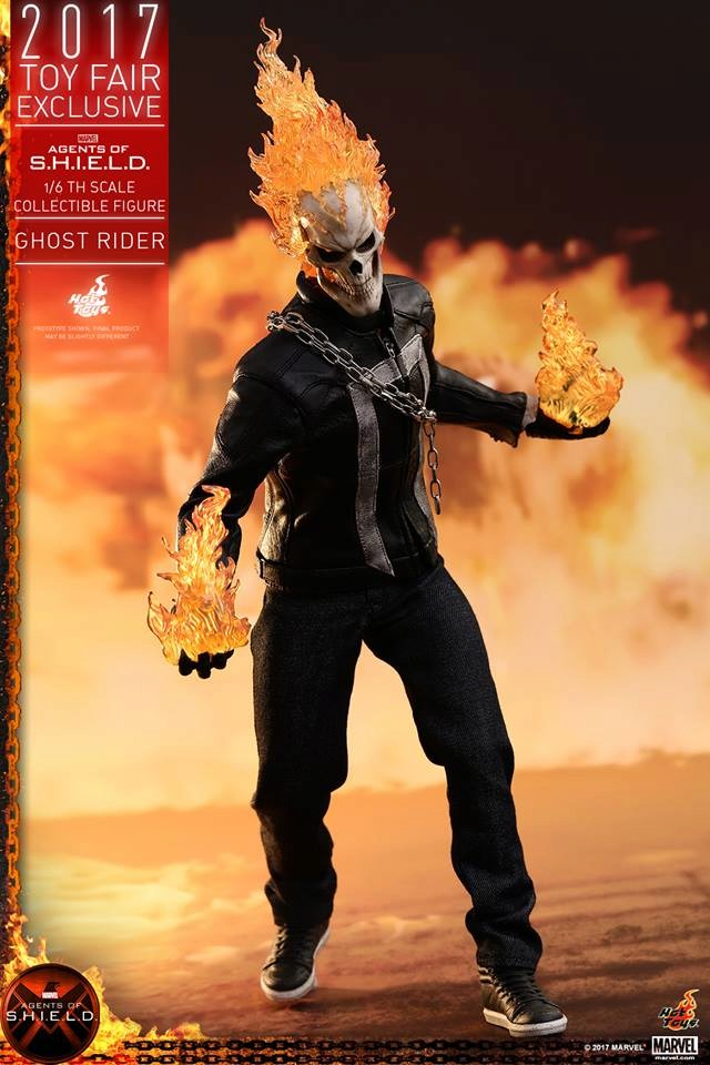 AGENTS OF SHIELD - GHOST RIDER -TMS005 10111
