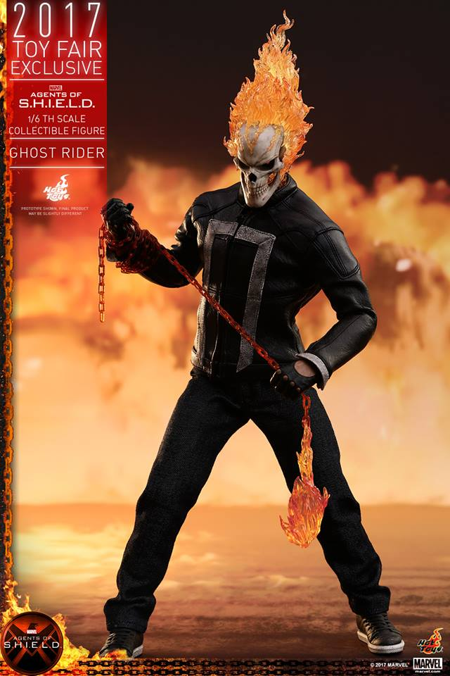 AGENTS OF SHIELD - GHOST RIDER -TMS005 10510