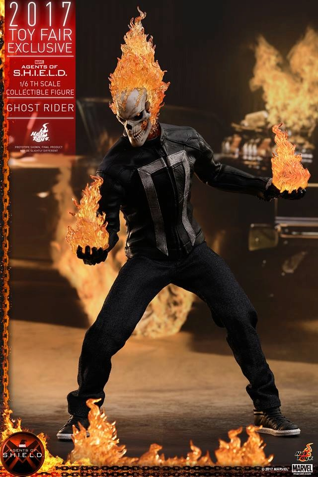 AGENTS OF SHIELD - GHOST RIDER -TMS005 11110