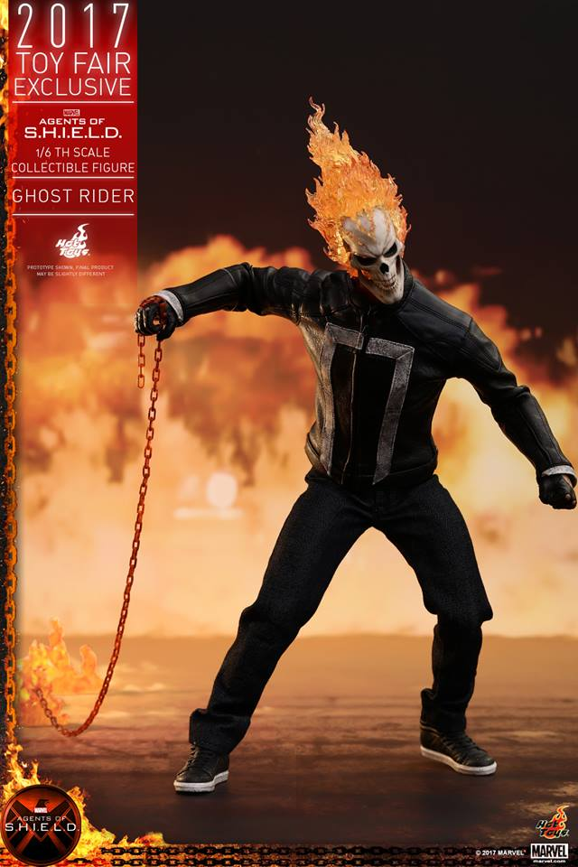 AGENTS OF SHIELD - GHOST RIDER -TMS005 11210