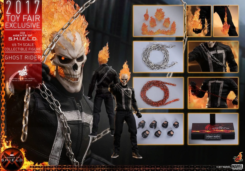 AGENTS OF SHIELD - GHOST RIDER -TMS005 11910