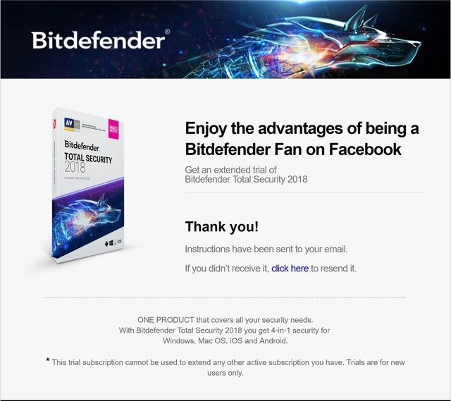 Miễn phí 3 tháng bản quyền Bitdefender Total Security 2018 Bitdef10