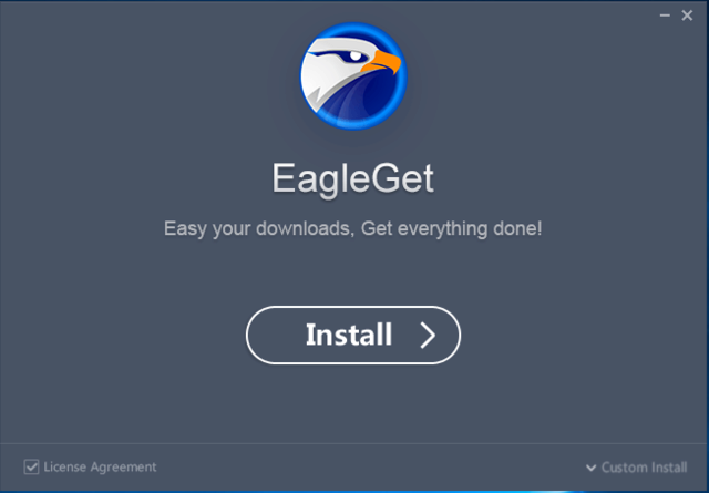 Hướng dẫn download video bằng EagleGet Media Grabber Eagleg10