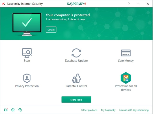 Kaspersky Internet Security 2018 18.0.0.405 Kasper10