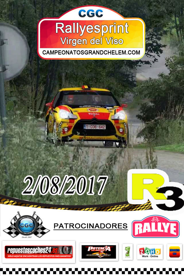 1º evento de Temporada Rallyesprint Virgen del Viso CGC Logo_r10