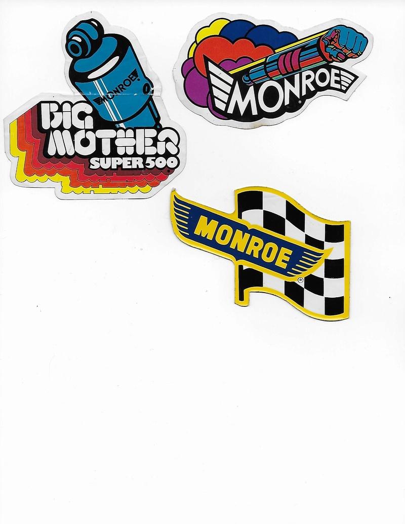 Stickers vintage en tout genre, Track, produit auto, dealer ect... Sticke10